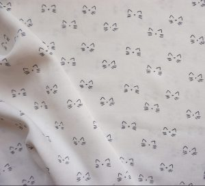 Small Cat On The White #
