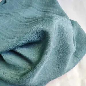 Bemberg™ cupro bark crepe -1203 --18 mint blue