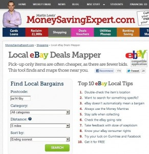 Money Saving Expert eBay