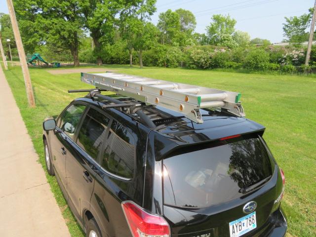adj 4 adjustable ladder rack