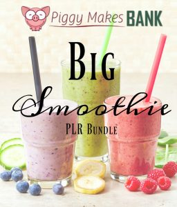 smoothie plr bundle
