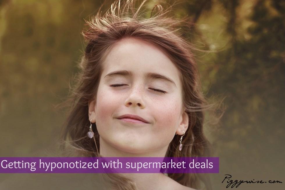 How I got hypnotized with my supermarket's half price deals