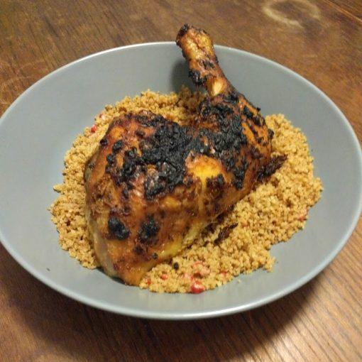 Blackened Spatchcock Chicken Sabrina Ghayour Feasts