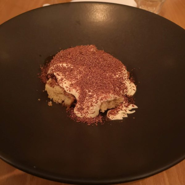 Tiramisu. Not much to look at, but utterly delicious to eat.