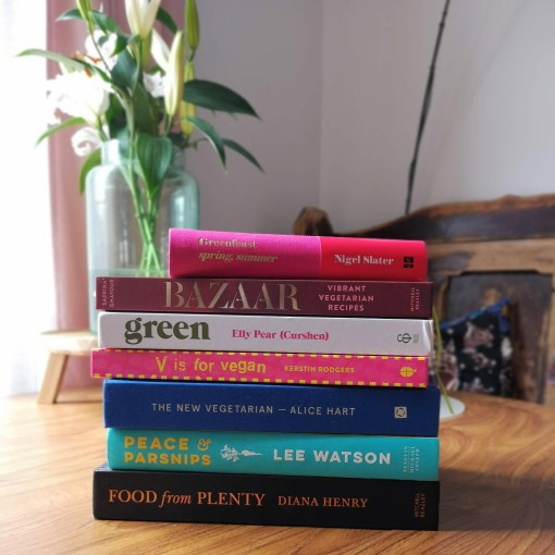Veganish cookbooks