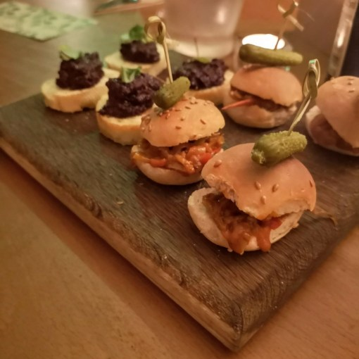 The Potted Plant   Pulled Chipotle BBQ 'Pig' in Sliders The Potted Pig Vegan Takeover
