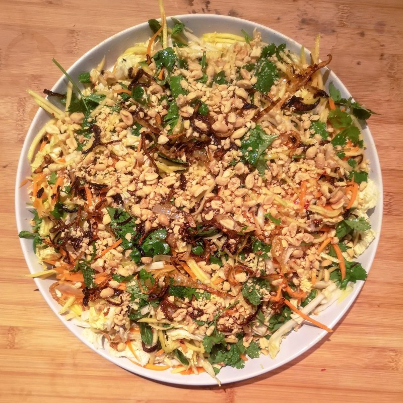 Burmese mango, peanut and lime salad | Meera Sodha (East)