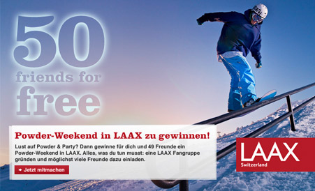 LAAX Gewinnspiel