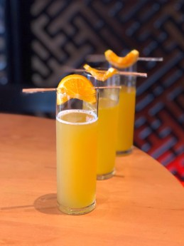 Asahi-Mosa / asahi beer, orange juice / $7