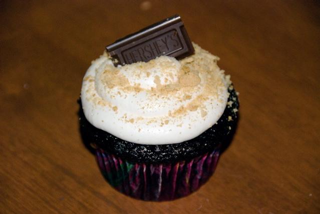 Single Smore cupcake
