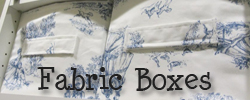 Fabric Boxes Tutorial