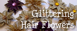 Glitteringhairflowers