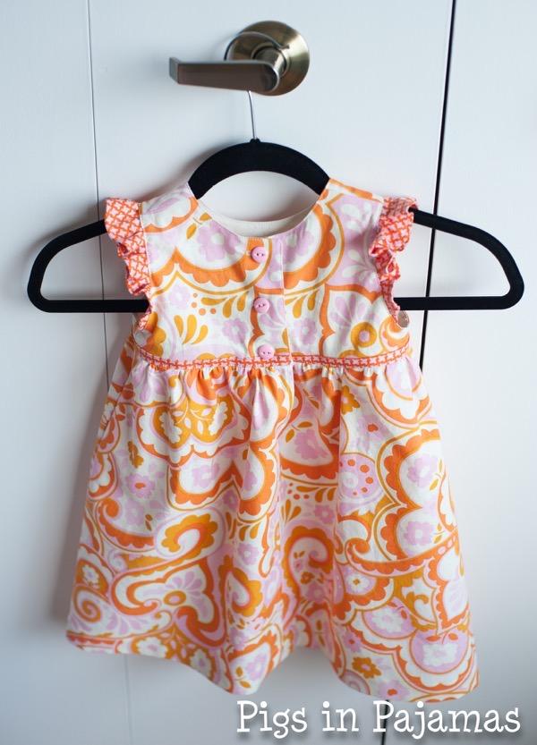 Made By Rae Geranium Dress Back