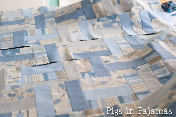 Baby quilt assembly 26746322330 o
