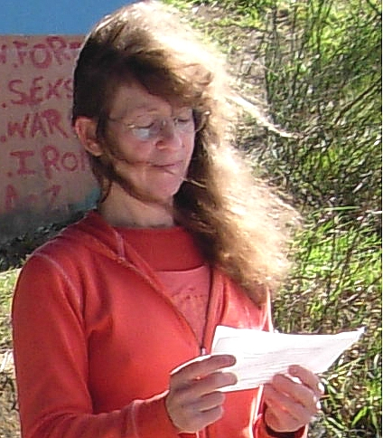 Kim Goldberg, Poet in the Underpass