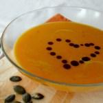 Recept: Smetanová dýňová polévka