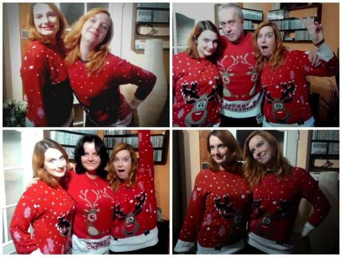 Bláznivé rodinné Mikulášské fotky
