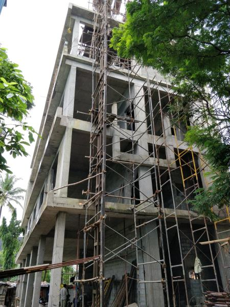 PIHPL office rear under construction