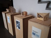 This was the last task, the individual competition to design an expandable living unit. The final models for the competition were part of an exhibition.
