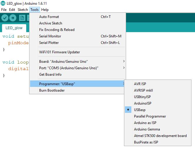 Arduino Programmer