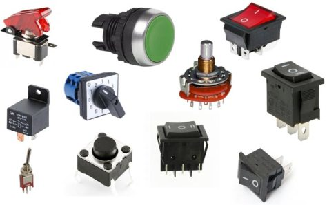 Different type of switches