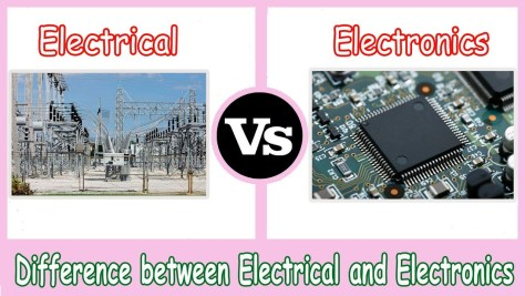 Electrical vs Electronics