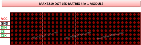 8x8 LED matrix