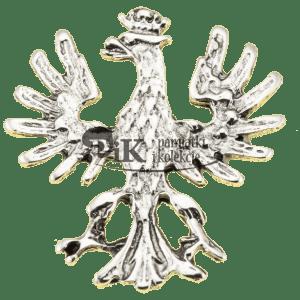 Przypinka z polskim orłem