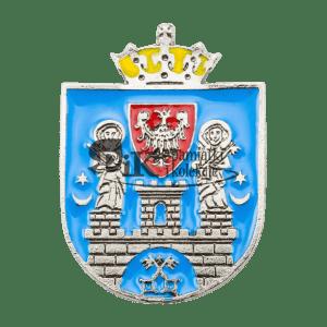 Przypinka z herbem Poznania