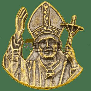 Przypinka z wizerunkiem Papieża, św. Jana Pawła II