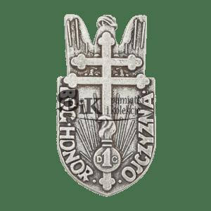 Przypinka 1 Dywizji Grenadierów