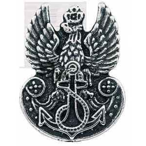 Przypinka z orzełkiem Marynarki Wojennej RP