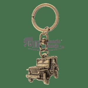Brelok Jeep kolor złoty