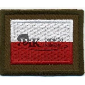 Flaga Polski wojskowa