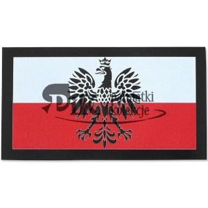 Naszywka Polska Godło - Duża - Kolor