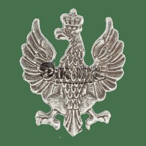 Przypinka z polskim herbem wdg. wzoru z 1919
