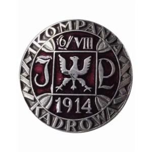 Odznaka 1 Kompanii Kadrowej