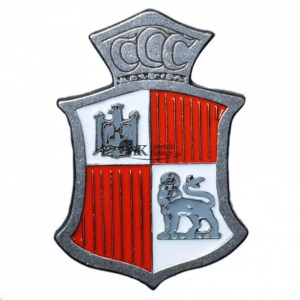 """Odznaka 300 Dywizjonu Bombowego """"Ziemi Mazowieckiej"""""""