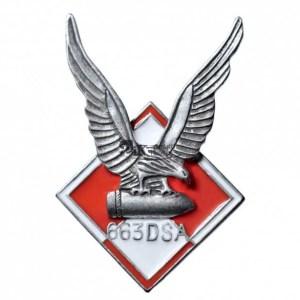 Odznaka 633 Dywizjonu Samolotów Artylerii