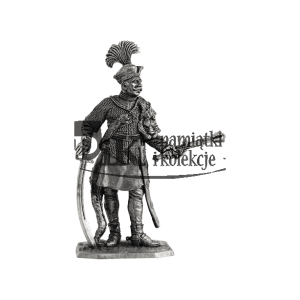 Rotmistrz horągwi husarskiej, początek XVII wieku