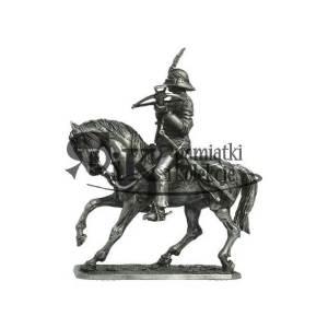 Oficer konny cudzoziemskiego autoramentu, arkebuzer, XVII w