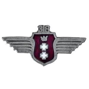 """Odznaka 318 Dywizjonu Myśliwsko-Rozp. """"Gdańskiego"""""""