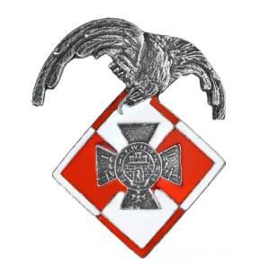 Odznaka Sekcji Lotniczej Obrony Lwowa.