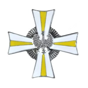 Pamiątkowa odnzaka ofic. 24 Pułku Ułanów.