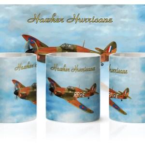 Kubek poświęcony Hawker Hurricane