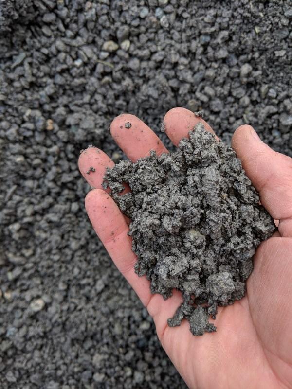 """3/8"""" - crush gravel"""