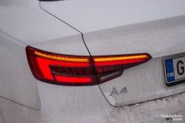 Audi A4 rear turning indicator
