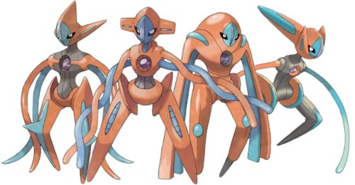 Deoxys Deck