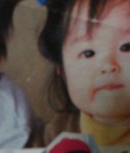 伊野尾慧の妹「アキ」さんの子供(赤ちゃん)の時(幼少期)の写真の画像