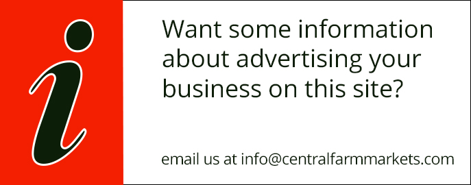 Place an ad on the Central Farm Markets website